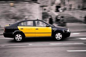 se déplacer à Barcelone en taxi