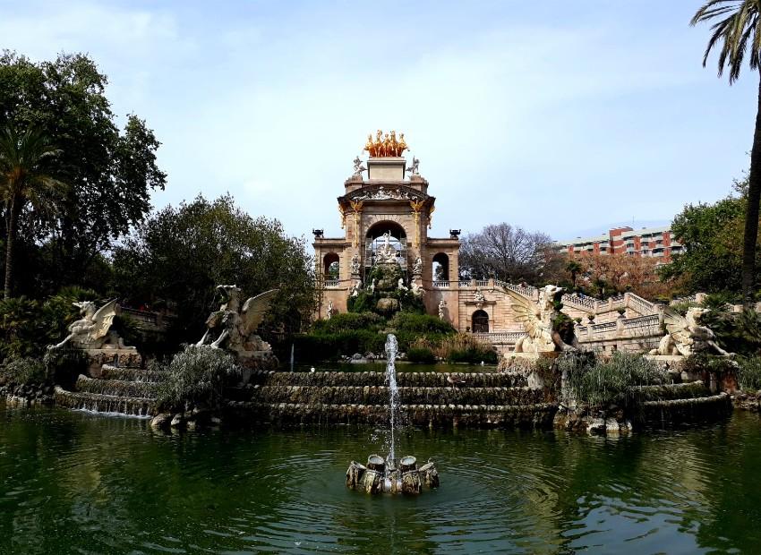 Parc de la Ciutadela à Barcelone