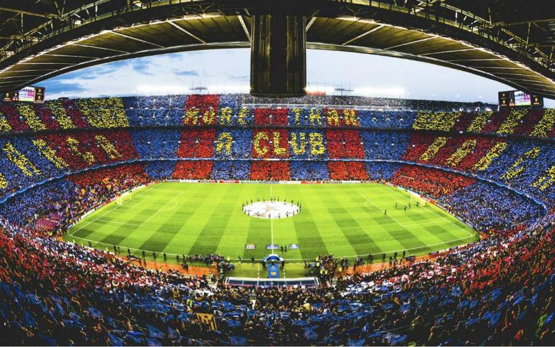 EVG spécial foot à Barcelone