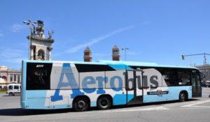 Barcelone : Aerobus vers le centre-ville