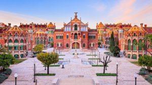 Visiter l'hôpital Sant Pau à Barcelone