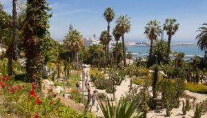 Le jardin des cactus et son panorama