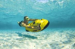Nouvelle activité nautique à Barcelone : le jet ski sous-marin