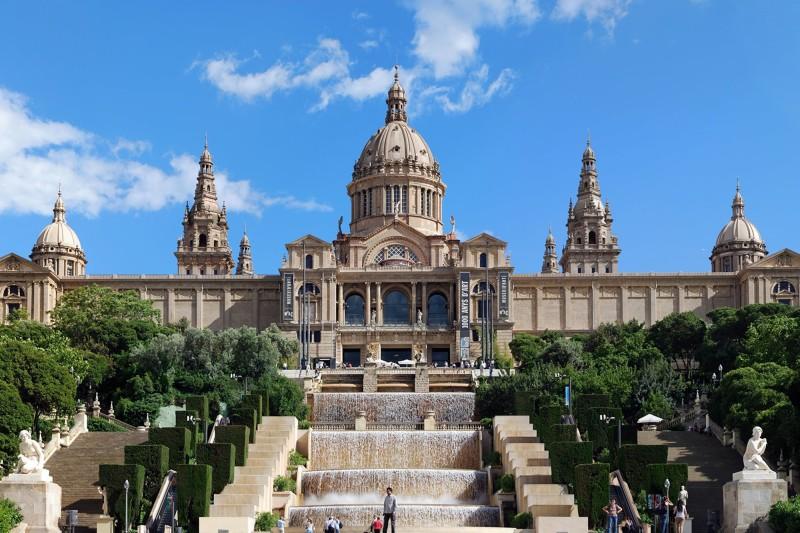 Musée du MNAC à Barcelone