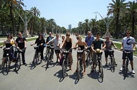 activité evg barcelone a vélo