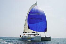 Fiesta Catamaran activité evjf barcelone