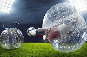 activité evg bubble football