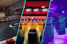 activité evg karting bowling laser game