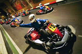 Karting evjf barcelone