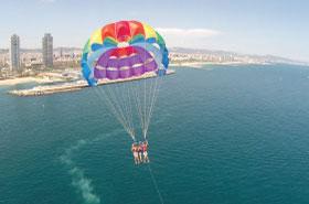 parasailing barcelone