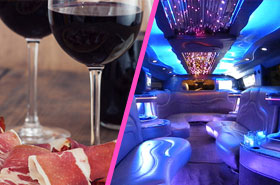 restaurant limousine pack evjf barcelone