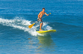 activité Stand Up Paddle evg barcelone