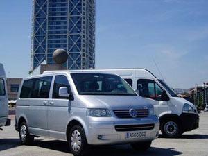 minibus aéroport evjf barcelone