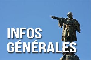 Infos générales Barcelone