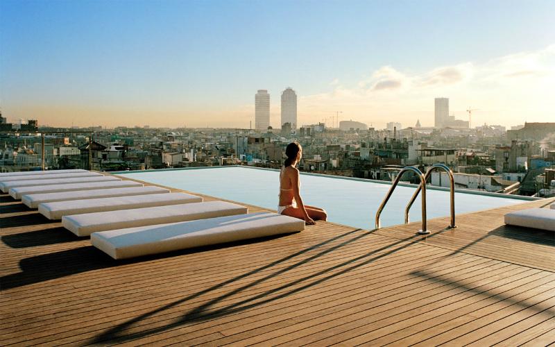 les meilleurs rooftop de Barcelone pour un EVG