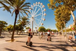 Baladez-vous en segway à Barcelone