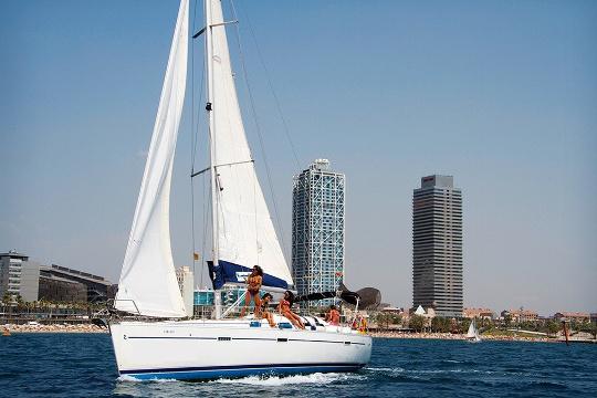 Activité EVG Sortie en voilier à Barcelone